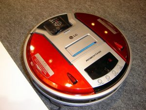 LG robotporszívó